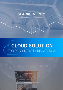 Cloud solution for productivity monitoring